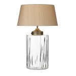 Kew Clear Table Lamp and Shade